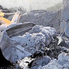 Inhert and Inorganic sludges