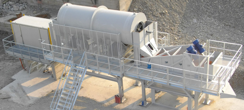 Rotating Barrel Scrubbers STC Series