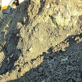 Roads and railroads foundation aggregates