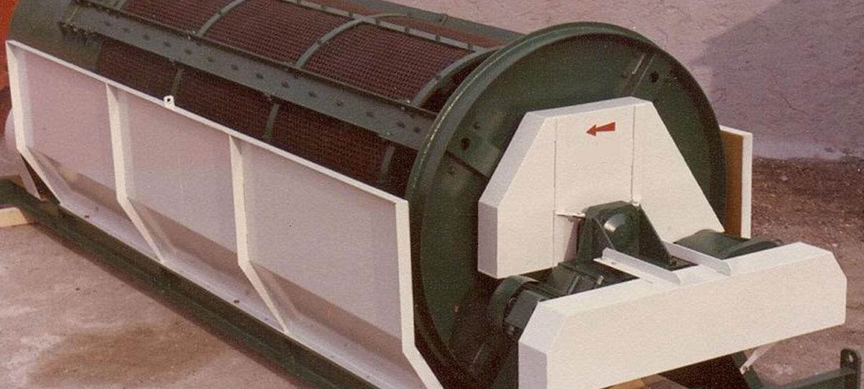 Vagli lavatrici rotanti